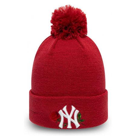 New Era MLB WMNS TWINE BOBBLE KNIT NEW YORK YANKEES - Women's club winter beanie