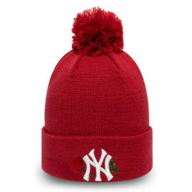 New Era MLB TWINE BOBBLE KNIT KIDS NEW YORK YANKEES - Dievčenská zimná čiapka
