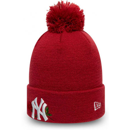 Téli sapka lányoknak - New Era MLB TWINE BOBBLE KNIT KIDS NEW YORK YANKEES - 2