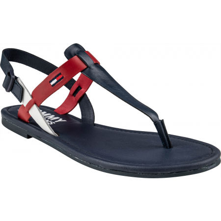 Tommy Hilfiger COLOR BLOCK BASIC THONG SANDAL - Sandalen für Damen