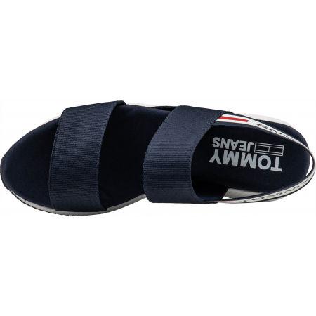 Dámske sandále - Tommy Hilfiger CHUNKY TAPE SPORTY SANDAL - 5