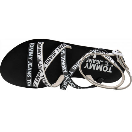 Dámske sandále - Tommy Hilfiger COLOR BLOCK CLEATED FLAT SANDAL - 5