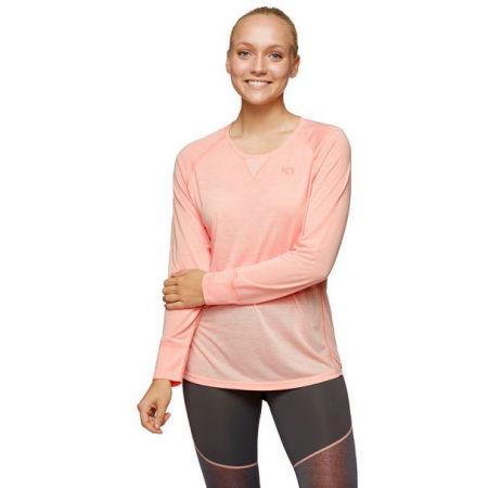 Dámske bežecké tričko s dlhým rukávom - KARI TRAA MARIA LS - 3