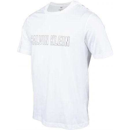 Pánske tričko - Calvin Klein SHORT SLEEVE T-SHIRT - 2