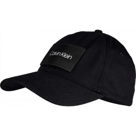 Men's baseball cap - Calvin Klein LEATHER PATCH BB CAP - 1