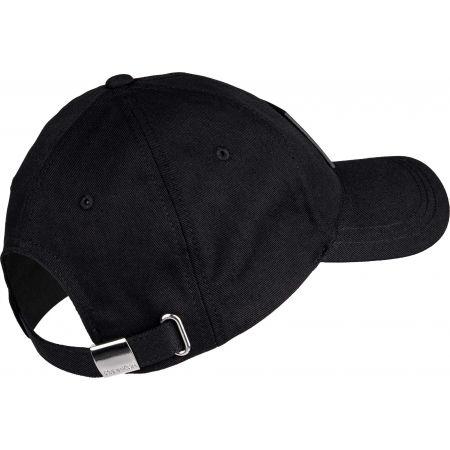 Men's baseball cap - Calvin Klein LEATHER PATCH BB CAP - 2