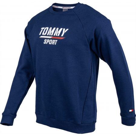 Men's sweatshirt - Tommy Hilfiger PRINTED FLEECE CREW - 2