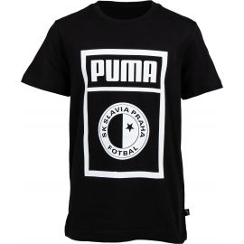 Puma SLAVIA PRAGUE GRAPHIC TEE JR - Tricou de juniori