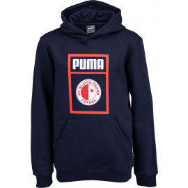 Puma SLAVIA PRAGUE GRAPHIC TEE JR - Юношеско горнище