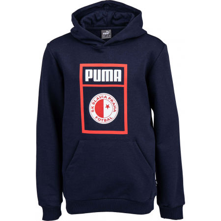 Puma SLAVIA PRAGUE GRAPHIC TEE JR - Juniorská mikina