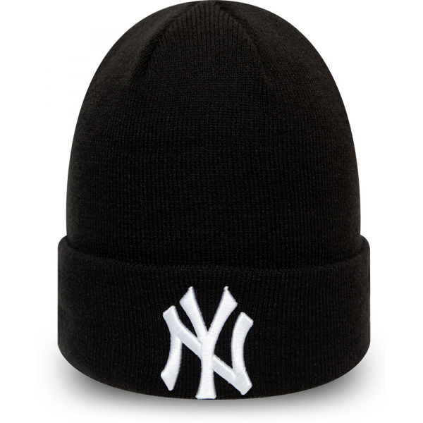New Era MLB LEAGUE ESSENTIAL CUFF KNIT NEW YORK YANKEES - Unisex zimná čiapka