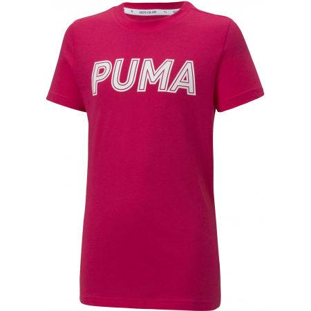 Puma MODERN SPORTS LOGO TEE G - Mädchen T-Shirt