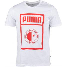 Puma SLAVIA PRAGUE GRAPHIC TEE - Pánske tričko