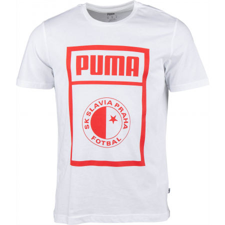 Puma SLAVIA PRAGUE GRAPHIC TEE - Herrenshirt