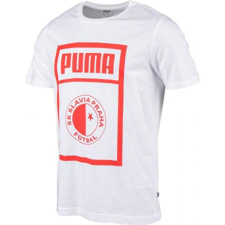 Pánske tričko - Puma SLAVIA PRAGUE GRAPHIC TEE - 2