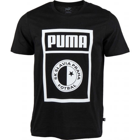 Puma SLAVIA PRAGUE GRAPHIC TEE - Men's T-Shirt