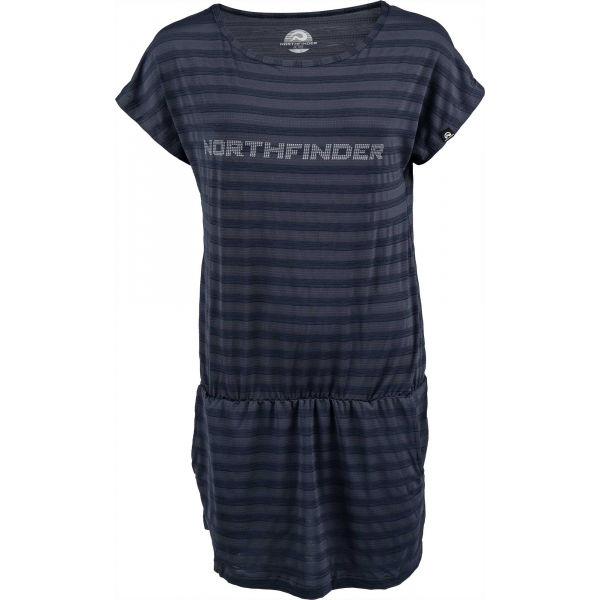 Northfinder KILDA  M - Dámské triko prodlouženého střihu