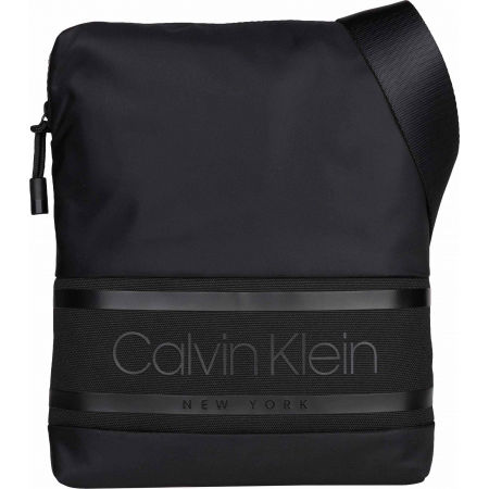 Pánska taška - Calvin Klein STRIPED LOGO FLAT CROSSOVER - 1