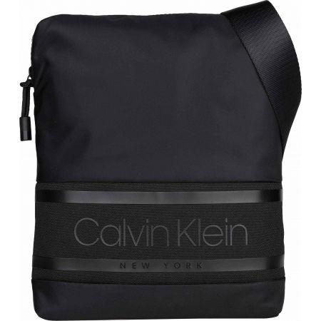Men's bag - Calvin Klein STRIPED LOGO FLAT CROSSOVER - 1