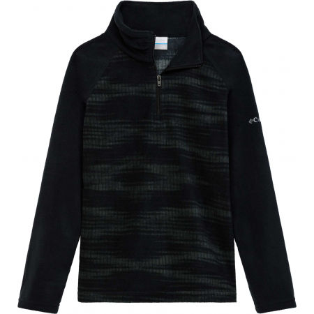 Columbia GLACIAL II FLEEC PRINT HALF ZIP - Girls' sweatshirt