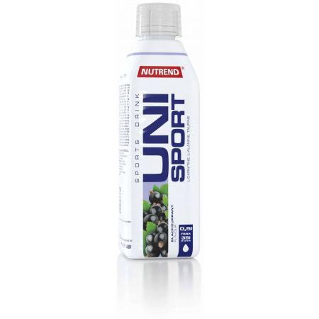 Nutrend UNISPORT 0,5L ČIERNE RÍBEZLE - Športový nápoj