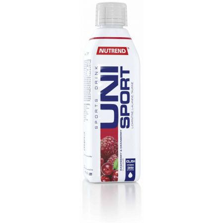 Nutrend UNISPORT 0,5L MALINA, BRUSNICA - Športový nápoj