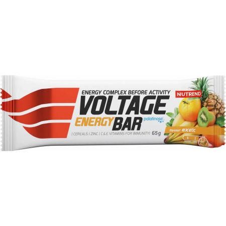 Energetická tyčinka - Nutrend VOLTAGE ENERGY EXOTIC 2+1 65g - 2