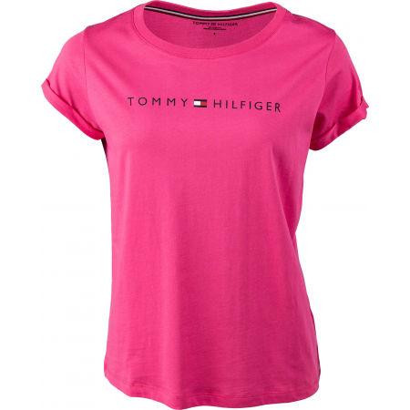 Dámske tričko - Tommy Hilfiger RN TEE SS LOGO - 1