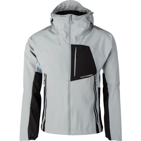 Northfinder RONDY - Men's hybrid-softshell jacket