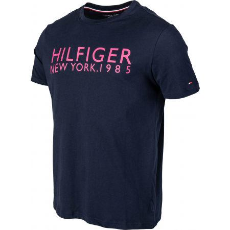 Pánské tričko - Tommy Hilfiger CN SS TEE LOGO - 2