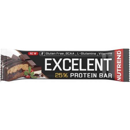 Nutrend EXCELENT NUGÁT 85g - Proteínová tyčinka