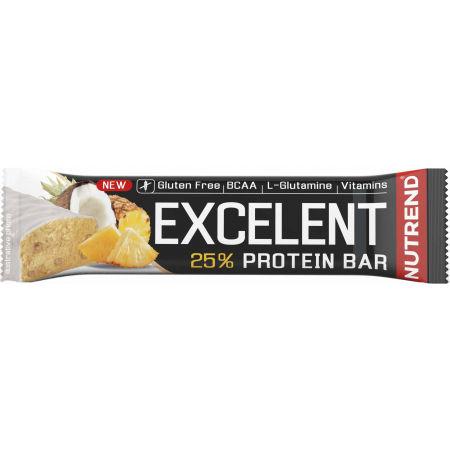 Nutrend EXCELENT ANANAS+KOKOS 85g - Proteínová tyčinka