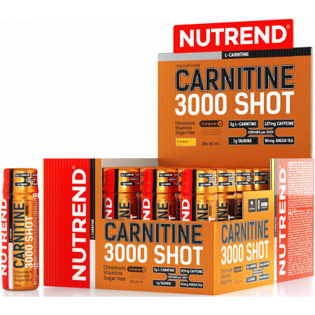 L -carnitine - Nutrend CARNITINE 3000 SHOT ANANAS - 2