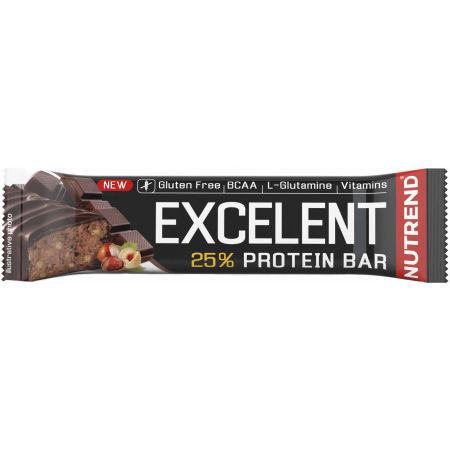Nutrend EXCELENT PROTEIN ČOKO/OŘECH 2x85+40g - Proteinová tyčinka