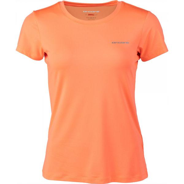 Arcore LAURIN oranžová L - Dámske technické tričko