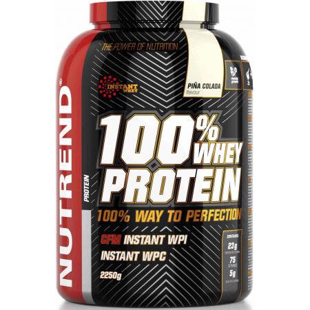 Protein - Nutrend 100% WHEY PROTEIN 2250G PIŇA COLADA