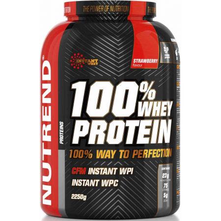 Nutrend 100% WHEY PROTEIN 2250G JAHODA - Proteín