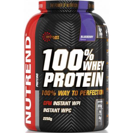 Nutrend 100% WHEY PROTEIN 2250G BORŮVKA - Proteín