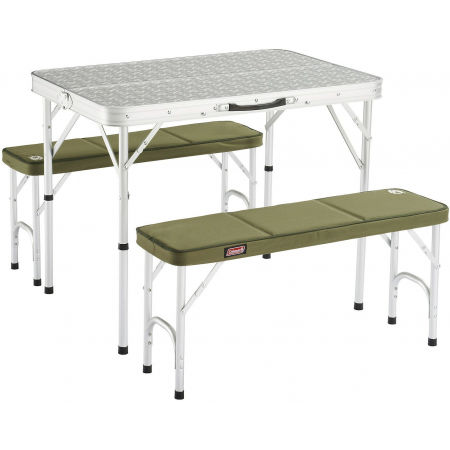 Kempový stôl a lavička - Coleman PACK-AWAY TABLE FOR 4 - 1