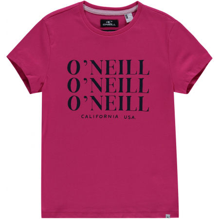 Girls' T-shirt - O'Neill LG ALL YEAR SS T-SHIRT - 1