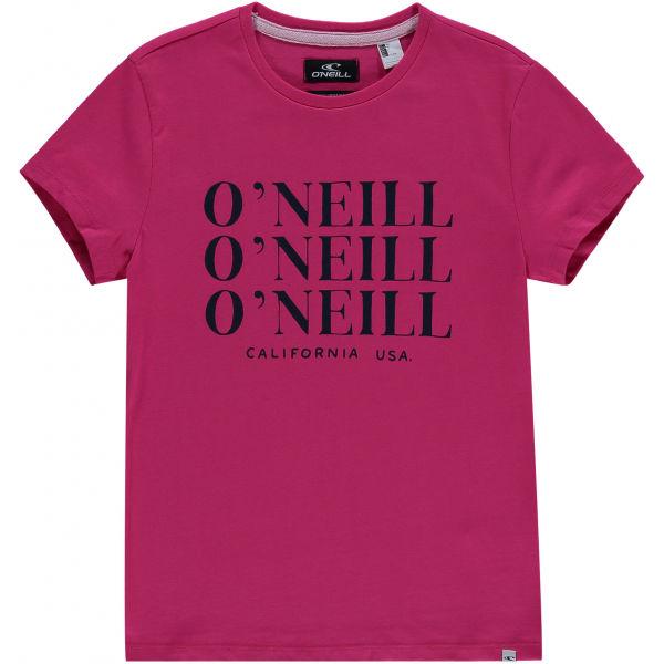 O'Neill LG ALL YEAR SS T-SHIRT  116 - Dívčí tričko