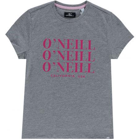 Тениска за момичета - O'Neill LG ALL YEAR SS T-SHIRT - 1