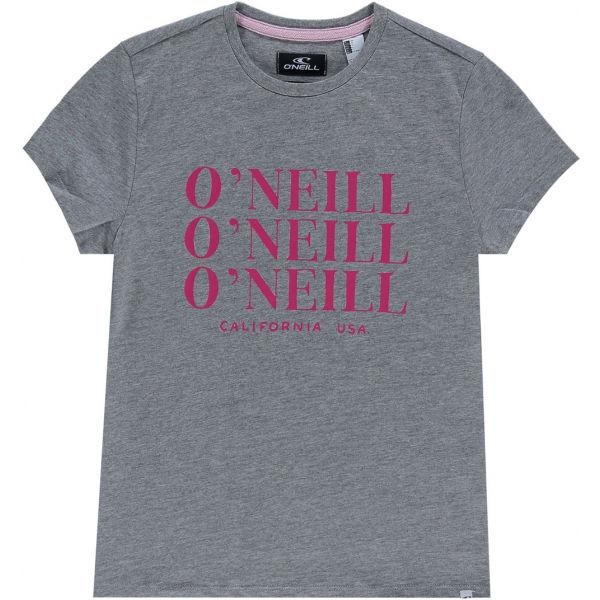 O'Neill LG ALL YEAR SS T-SHIRT  140 - Dívčí tričko