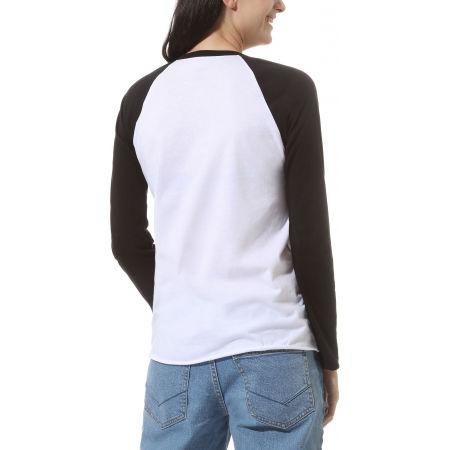 Women's long sleeve T-shirt - Vans WM FLYING V LS RAGLAN - 3