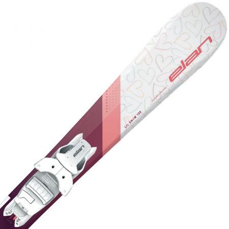 Junior downhill skis - Elan LIL SNOW W QS+EL 4.5 - 2