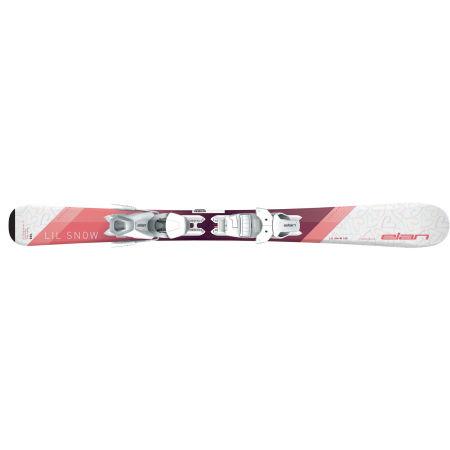 Juniorské sjezdové lyže - Elan LIL SNOW W QS+EL 7.5 - 3