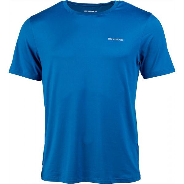 Arcore STUART modrá M - Pánske tričko