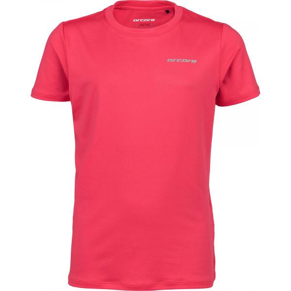 Arcore ALI ružová 140-146 - Detské technické tričko