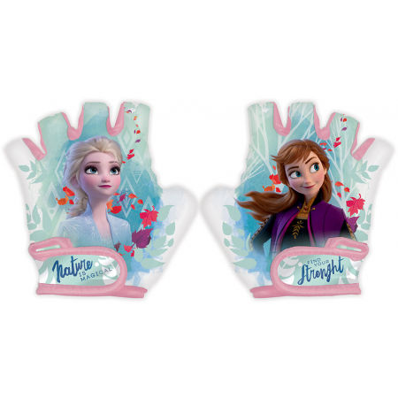 Detské rukavice na bicykel - Disney ĽADOVÉ KRÁĽOVSTVO