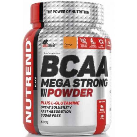 Nutrend BCAA MEGA STRONG POMARANČ 300 G - BCAA